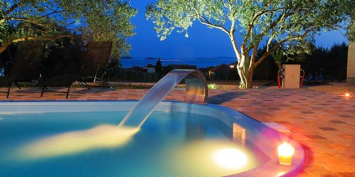7 nocí v rodinném resortu s bazénem a olivovým hájem v klidné čtvrti Pakoštane