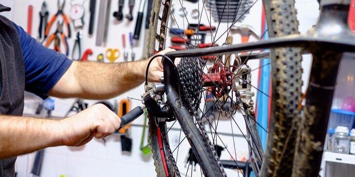 Připravte bicykl na léto - servisy kol od malého po generální