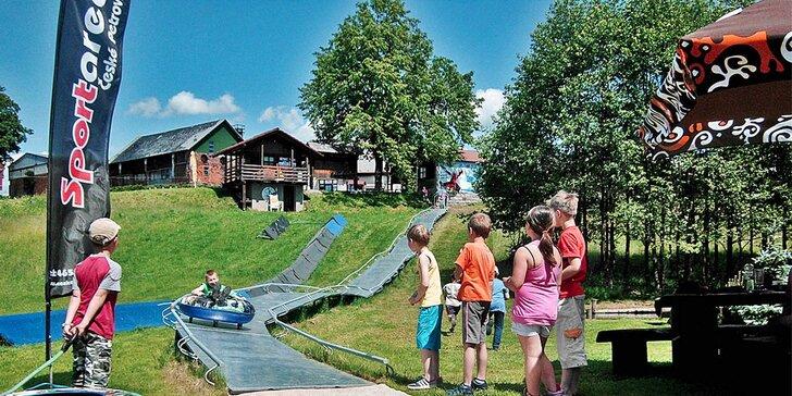 Aktivní dovolená plná adrenalinu v Orlických horách pro dva či celou rodinu