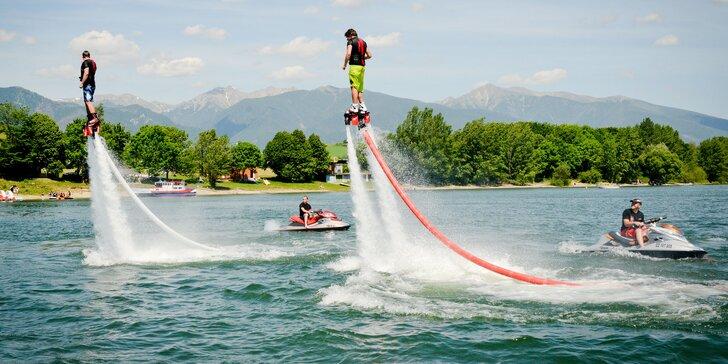 Wake, ski, kneeboard, flyboard nebo skútr - Vyblázněte se na Maře