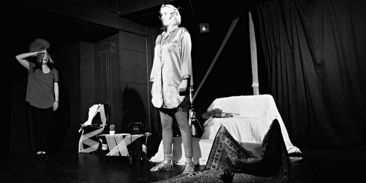 Vstupenka na představení Apokryf na Čapka v Divadle Exil