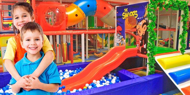 Celodenní dovádění ve Šmoulíkově - v zábavním centru, které děti milují