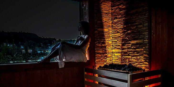 Privátní sauna s vířivkou a lahví prosecca pro dvě osoby