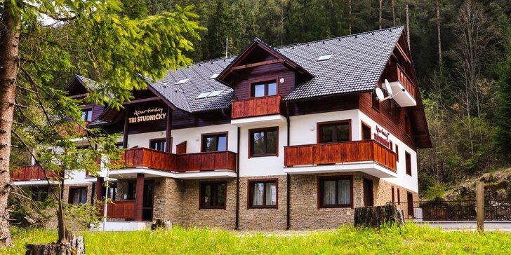 Luxusně zařízené apartmány v Jasné: Pohoda pro páry či rodiny v létě i na podzim