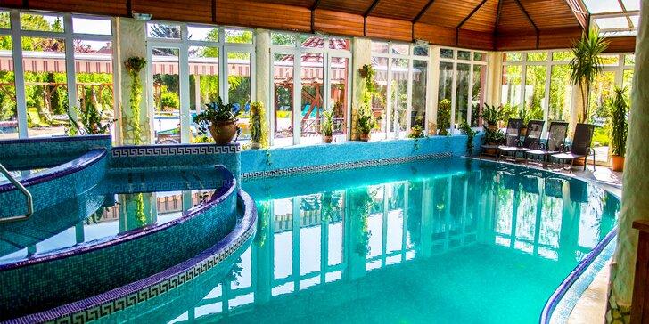 Luxusní a bohatý wellness pobyt na břehu Dunaje s polopenzí pro 2 osoby