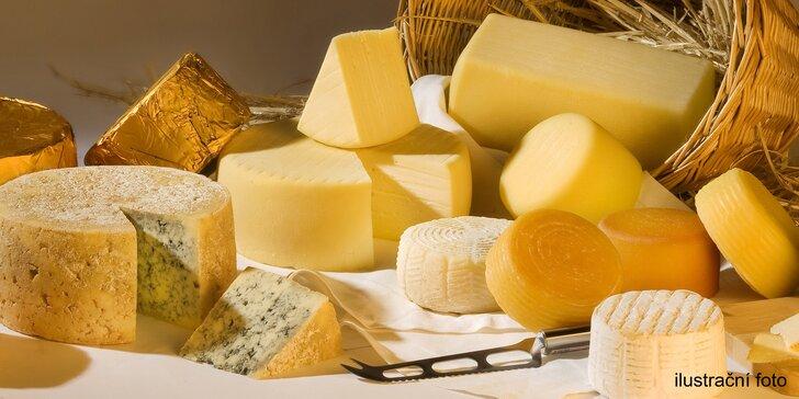To nejlepší z Holandska: 200 gramů uleželé goudy nebo kozího sýru