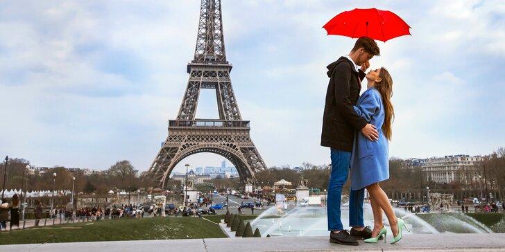 Podzimní romantika: Letecký zájezd do Paříže včetně 3 nocí v hotelu a průvodce