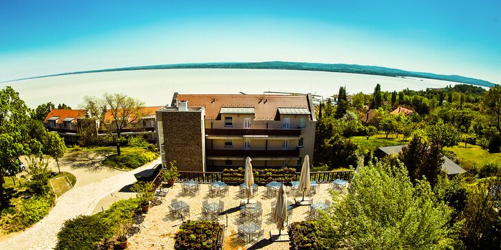 Užijte si nejkrásnější výhled na Balaton v malebné oblasti městečka Tihany