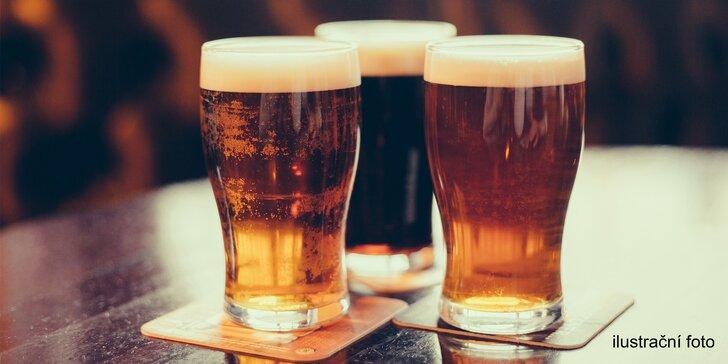 To nejlepší z Líšeňského pivovaru: Degustace 5 nebo 6 tradičně netradičních piv