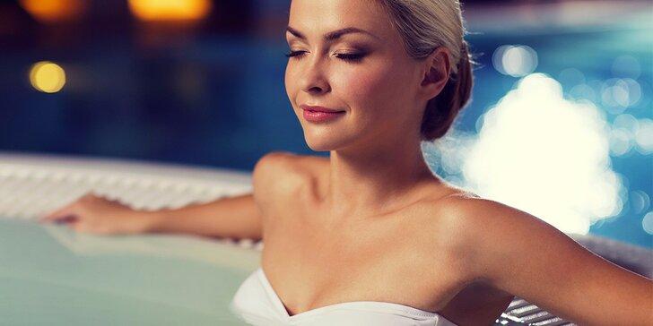 Pohoda v bublinkách: relax v privátní vířivce s partou nebo romantika ve dvou