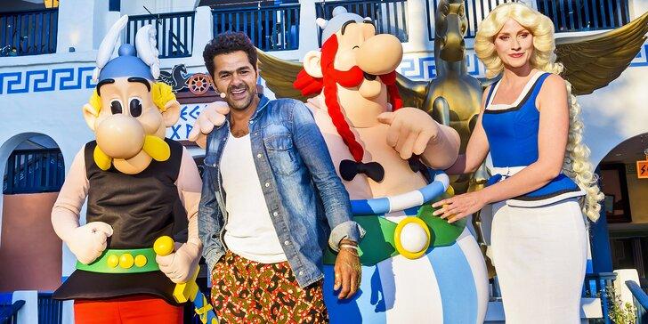 Prázdninový výlet do zábavného parku Asterix včetně okružní jízdy po Paříži