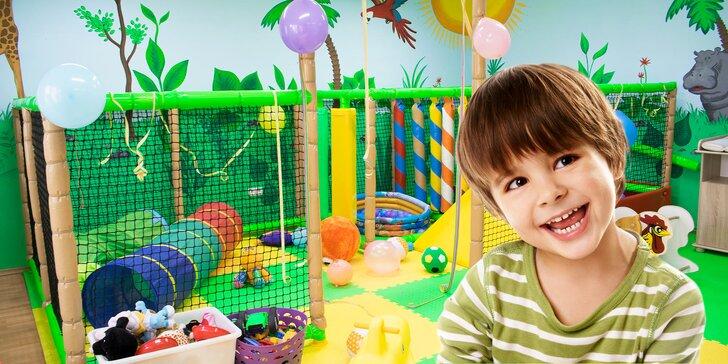Vstup do dětské herny Rambajs: zábava pro děti a dobrá káva pro maminku