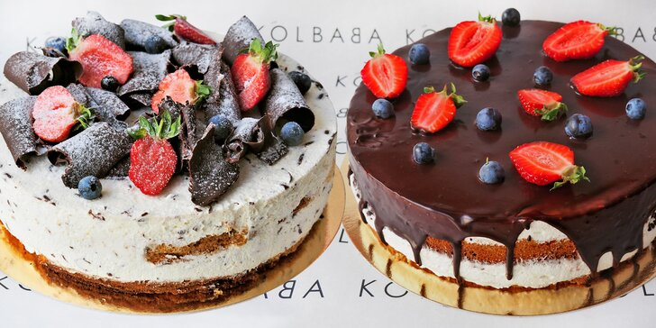 Oslaďte si léto dortem z ostravské Kolbaby: na výběr Míša a Stracciatella