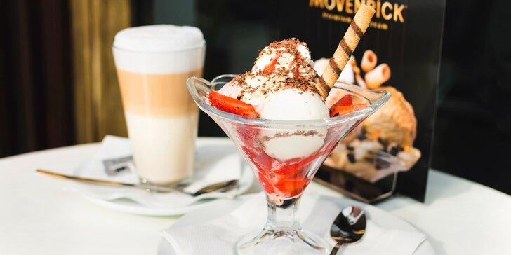 Na sladké ke Statečnému kohoutovi: Libovolný zmrzlinový pohár s nápojem či bez