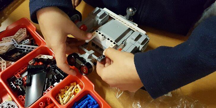 Lego Mindstorms: Příměstský tábor plný robotiky a zábavného programování