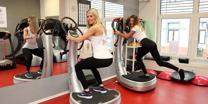 Exkluzivní cvičení Power Plate pod vedením trenérky - 1, 3 nebo 5 lekcí