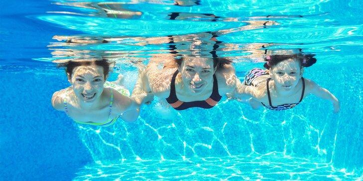 Celodenní vstup do letního plaveckého areálu ve Vyškově pro děti i dospělé