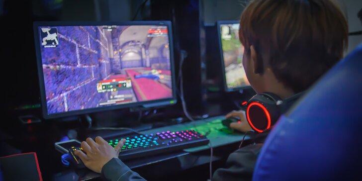 Zapařte si nejnovější gamesy na nadupaných strojích: 300 nebo 600 minut