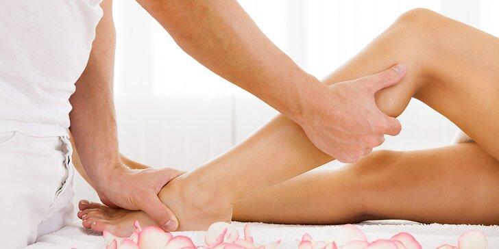 Sbohem celulitido a otoky nohou: Ruční 60minutová lymfatická masáž