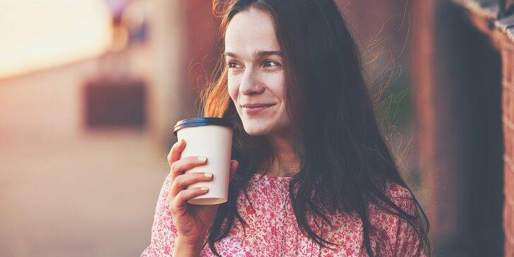 Lahodná káva dle vlastního výběru s sebou