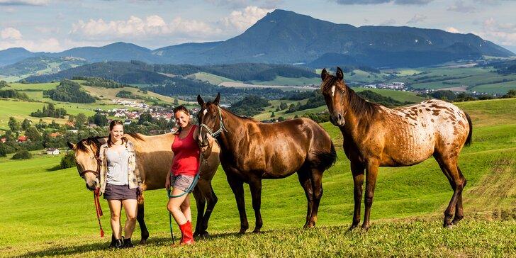 V páru na Oravu: polopenze, neomezené wellness i jízda na koni krásnou přírodou