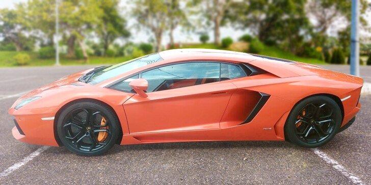 Nezapomenutelná jízda v Lamborghini jako spolujezdec nebo řidič