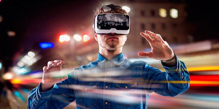 Na hodinu do jiného světa: 60 minut virtuální reality pro 2 až 6 osob