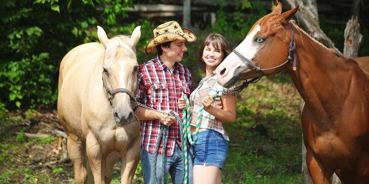 Královský apartmán na ranči: pobyt se 2 druhy večeří a dalšími lákadly