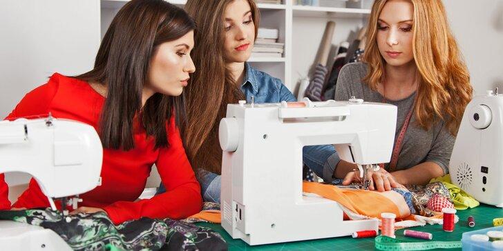 Konfekce je nuda: Zážitkový workshop, na kterém si ušijete vlastní oblečení