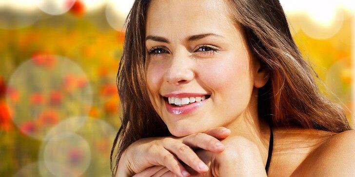 Pleť jako samet: kompletní výživná 60minutová kosmetická péče o pleť
