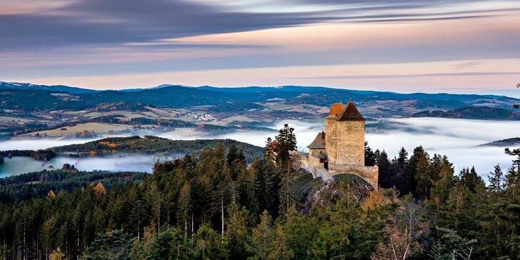 Kouzelný podzim na Šumavě: Pobyt u Kašperských Hor s domáckou polopenzí