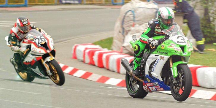 Víkend s vůní benzínu: Vstupenka na motocyklové závody Havířovský zlatý kahanec