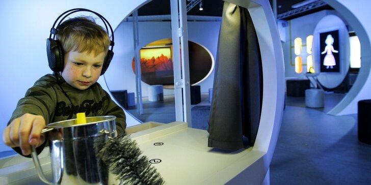 Labyrint Divadla Drak: Rodinné vstupné na interaktivní výstavu