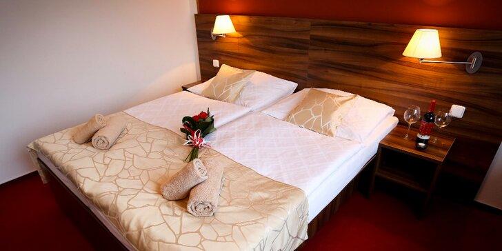 Pobyt pro 2 s polopenzí a historickou atmosférou Tábora v moderním hotelu Palcát