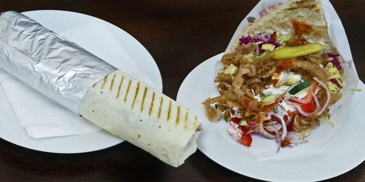 Ve Vršovické hlad nemá šanci: skvělý kebab a nápoj pro 1 nebo 2 osoby