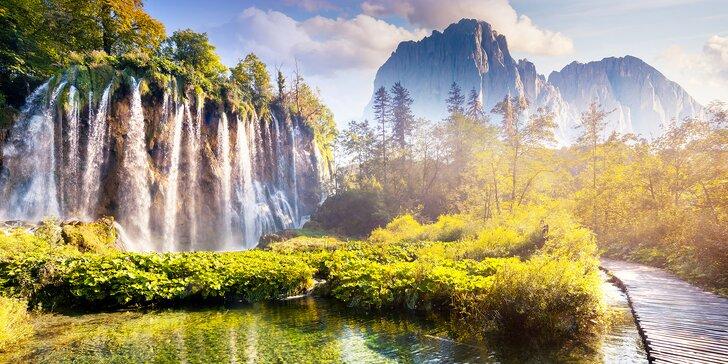 Krajina jako z pohádky: 3denní pobyt pro 2 v blízkosti magických Plitvických jezer