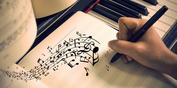 Originální píseň od hudebního skladatele se jménem obdarovaného i dárce