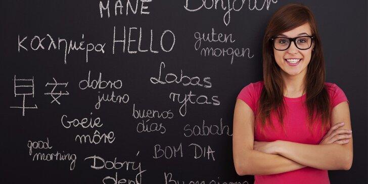 Krátké intenzivní workshopy cizích jazyků pro dospělé