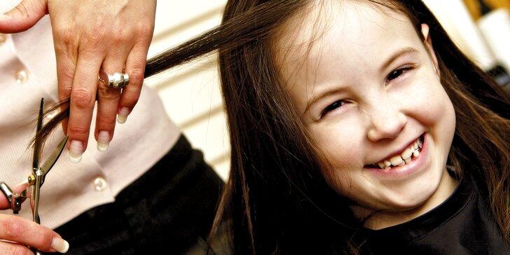 Dětské kadeřnictví: Nový účes na prázdniny pro vaše ratolesti