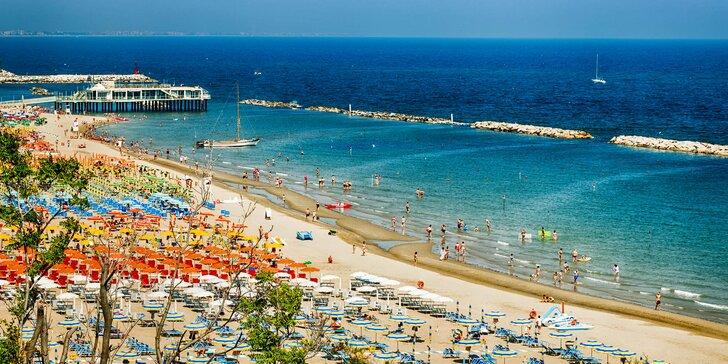 Léto v Itálii: 7 nocí ve 3* hotelu u pláže a ubytování pro dvě děti do 6 let zdarma