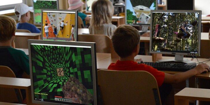 Minecraft & dobrodružství: Dětský příměstský tábor v anglicky mluvícím prostředí