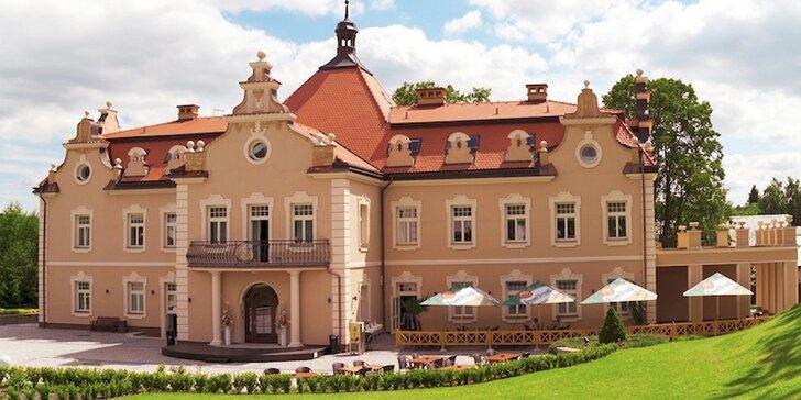 Letní rodinný pobyt na zámku Berchtold: snídaně, masáž i spousta zábavy