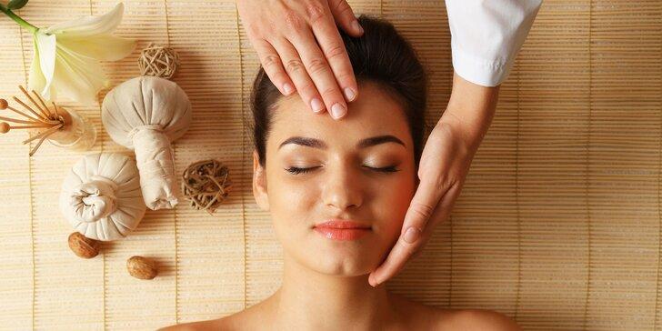 Melounová nebo okurková osvěžující masáž obličeje, rukou a nohou vč. masky