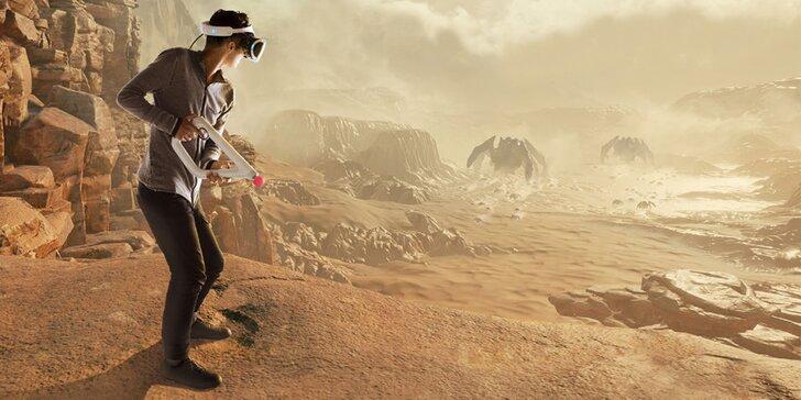 Výlet do virtuálního světa: dinosauři, zombíci i rychlá jízda v 60minutové exkurzi