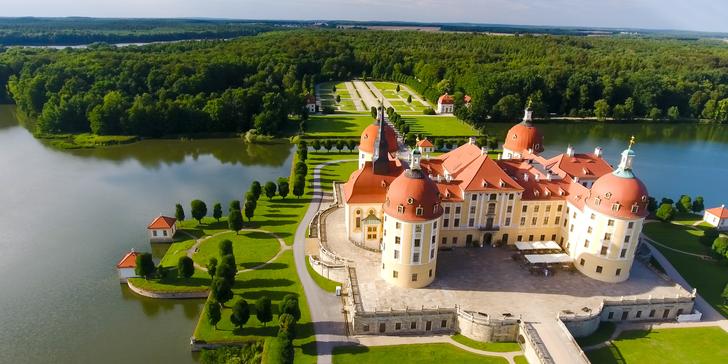 Celodenní výlet za Popelkou na zámek Moritzburg a do Drážďan s průvodcem