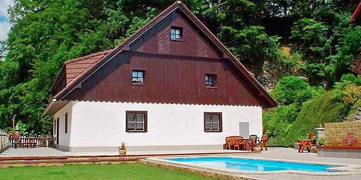 4denní dovolená v rodinném penzionu v Krkonoších s polopenzí a wellness