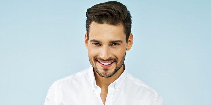 Nový střih pro pány včetně masáže hlavy