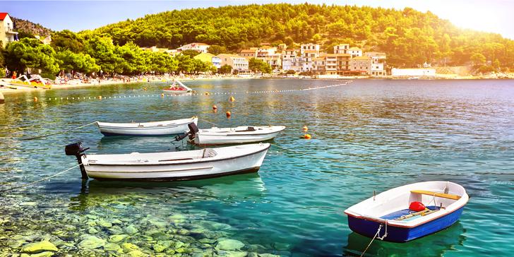 Chorvatský Drvenik: 7 nocí v apartmánu pro 2 či 4 vzdáleném jen 80 m od moře