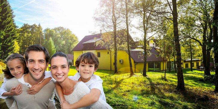 Parádní rodinná dovolená v Jizerských horách: polopenze, wellness, sport, výlety