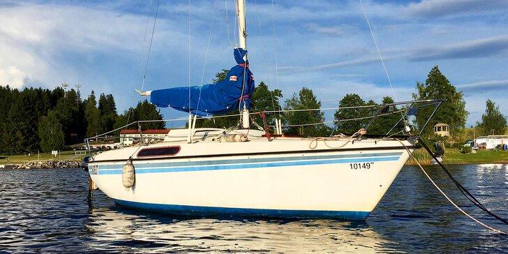 Mořští vlci, pozor: 3hod. plavba na plachetnici se zkušeným kapitánem